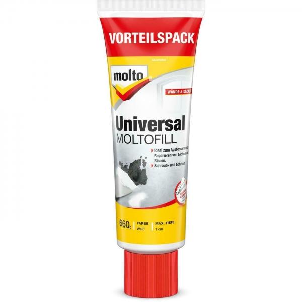 Molto Reparaturspachtel Universal 660g Fertigspachtel  Wand Spachtelmasse Nr. 5273663